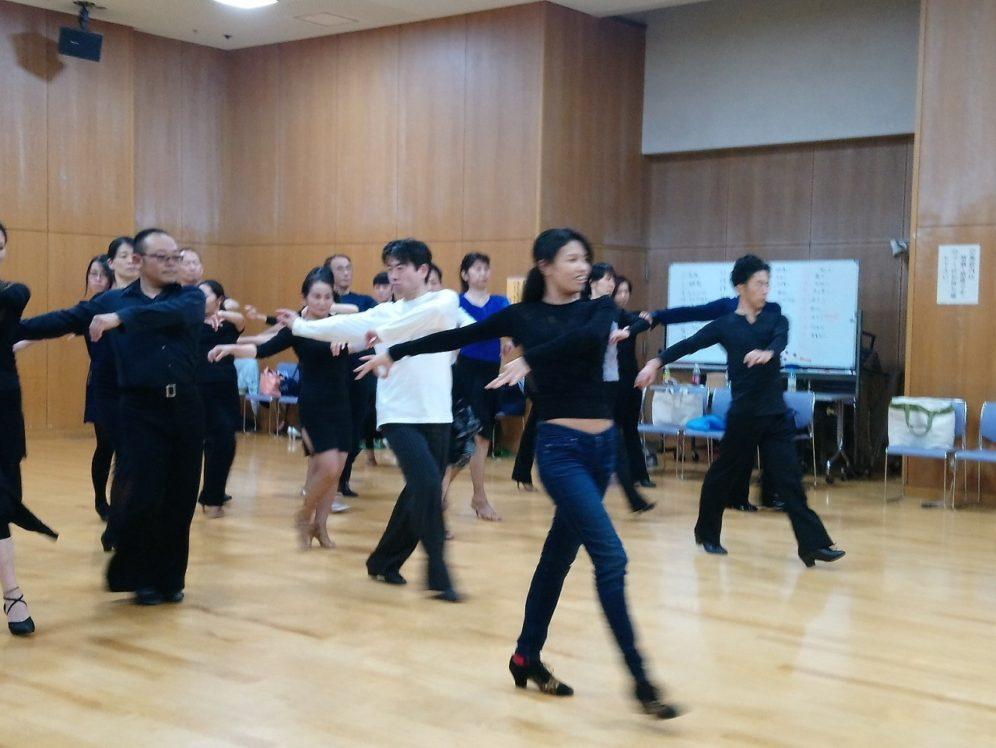 2019年11月13日 ヤングダンスサークル ギャラクシーダンスクラブ 例会のご案内@上馬高齢者集会所