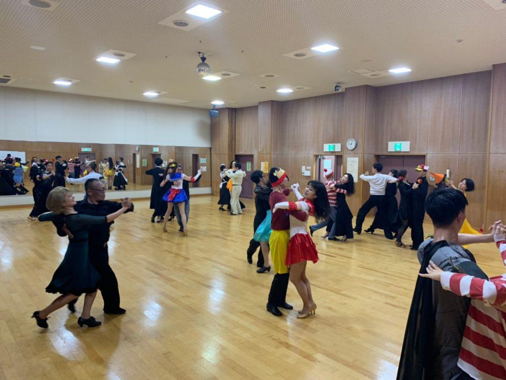 2019年11月6日 ヤングダンスサークル ギャラクシーダンスクラブ 例会のご案内@上馬高齢者集会所