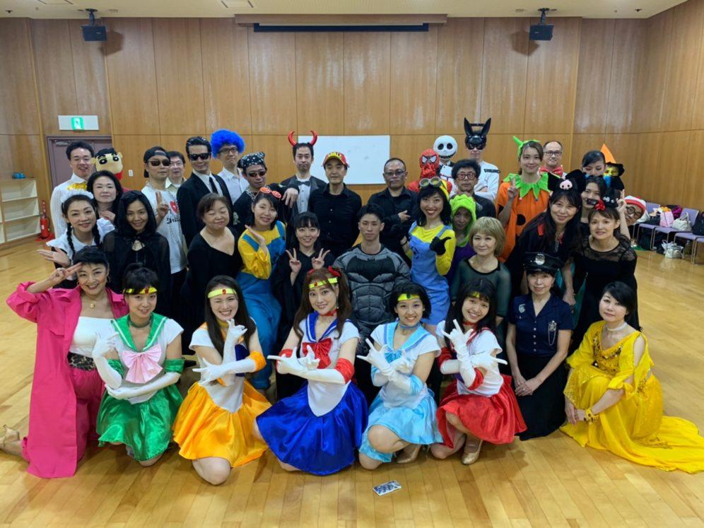 2020年10月28日 ギャラクシーダンスクラブ 例会のご案内@上馬高齢者集会所