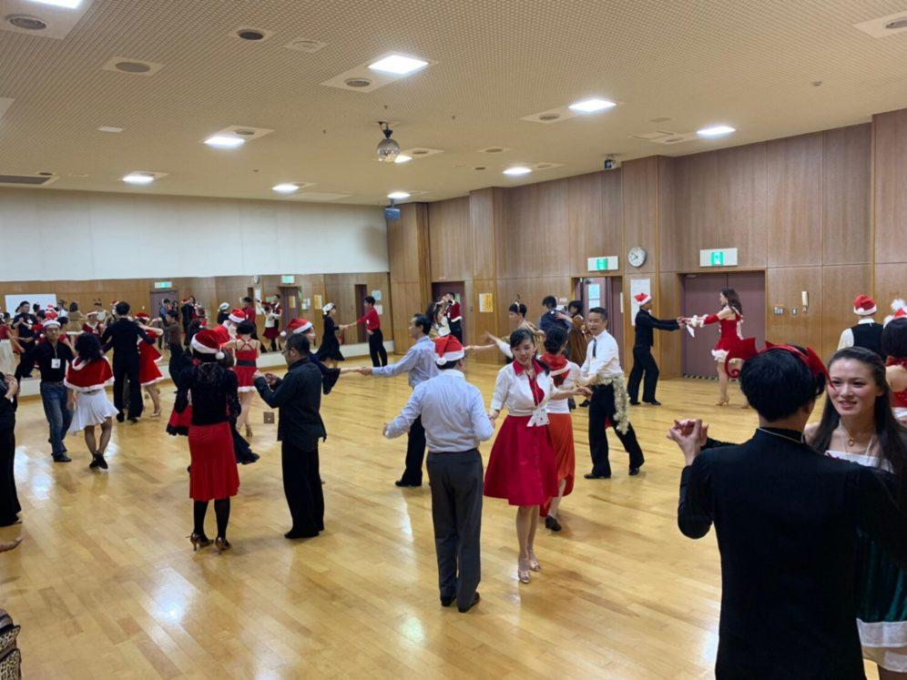 2019年12月25日 ヤングダンスサークル ギャラクシーダンスクラブ 例会のご案内@上北沢区民センター