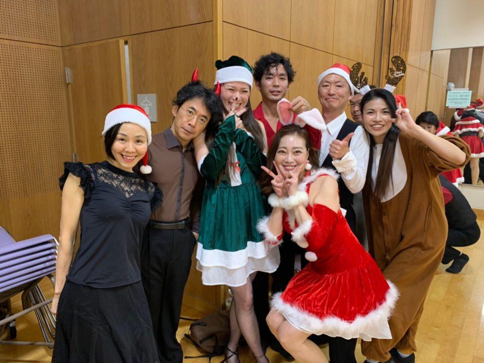 ギャラクシーダンスクラブミニクリスマスダンスパーティ!