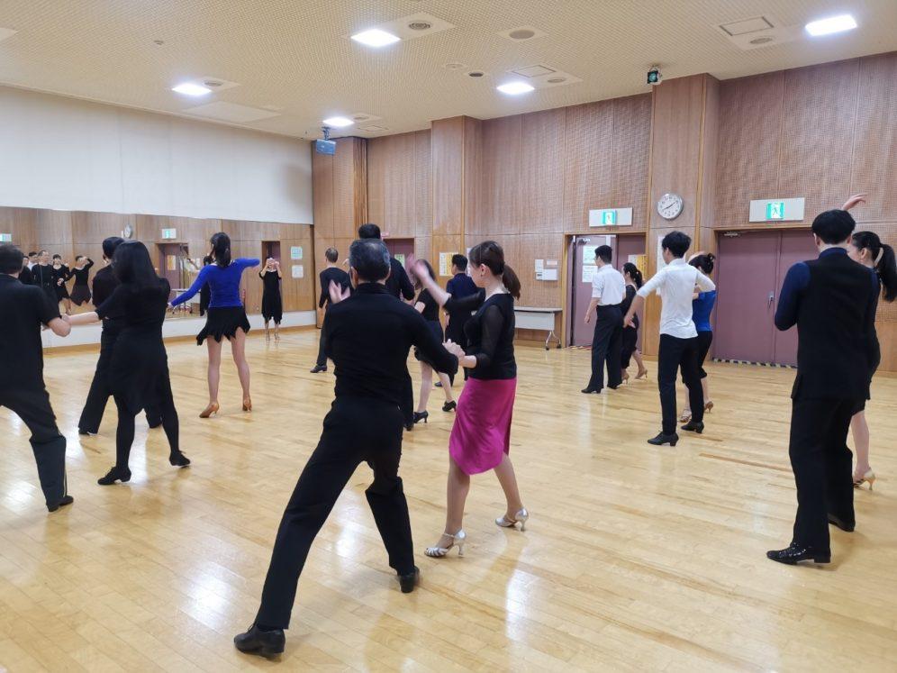 2020年1月29日 ヤングダンスサークル ギャラクシーダンスクラブ 例会のご案内@上馬高齢者集会所