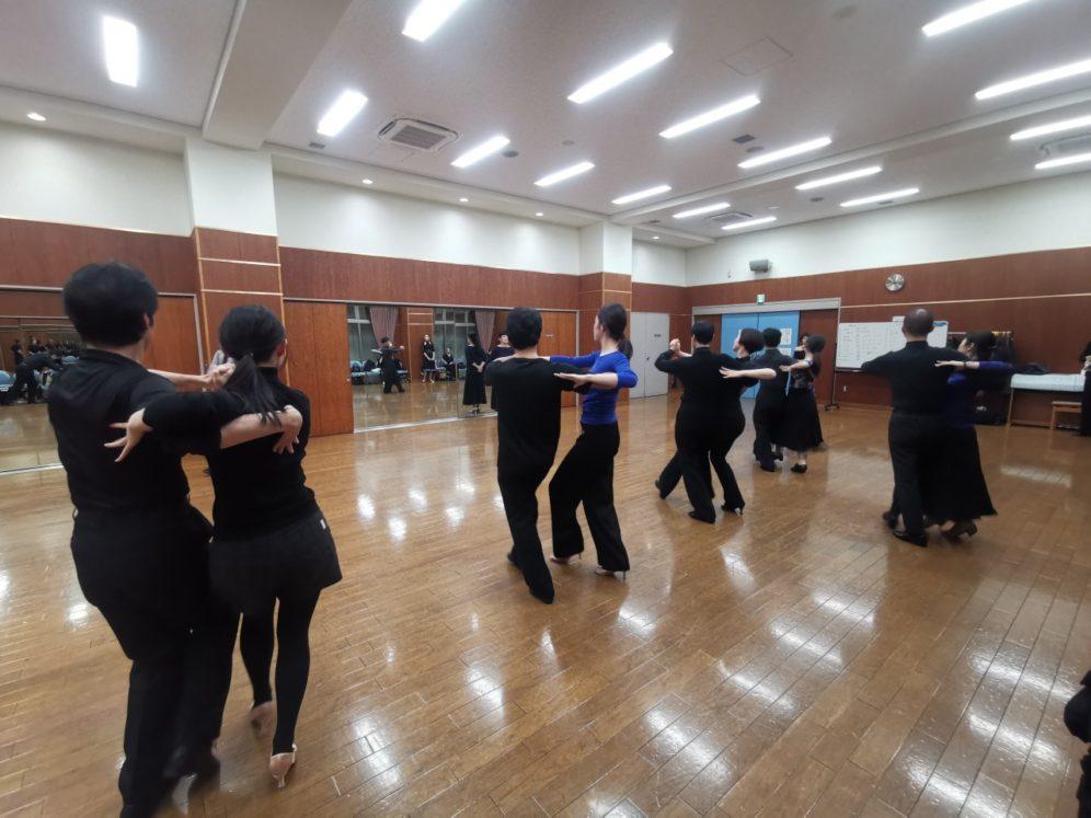 2020年2月26日 ヤングダンスサークル ギャラダン 例会のご案内@上馬高齢者集会所