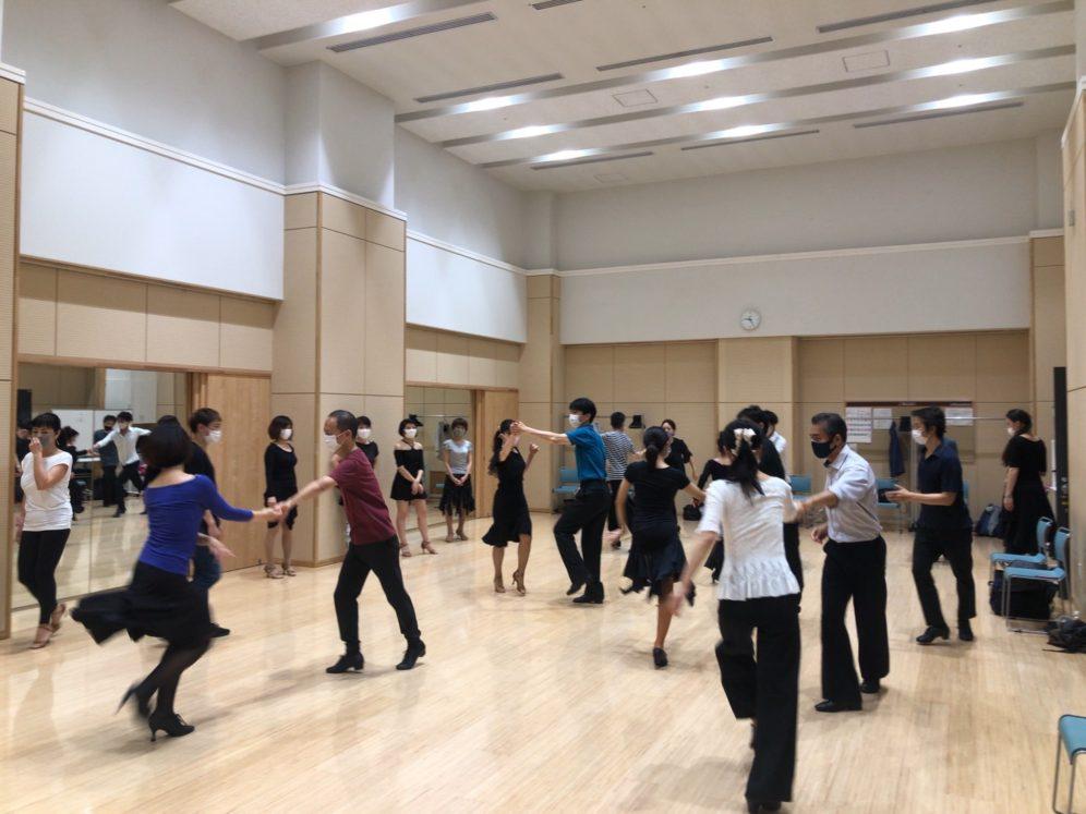 2020年7月22日 ヤングダンスサークル ギャラクシーダンスクラブ 例会のご案内@上馬高齢者集会所