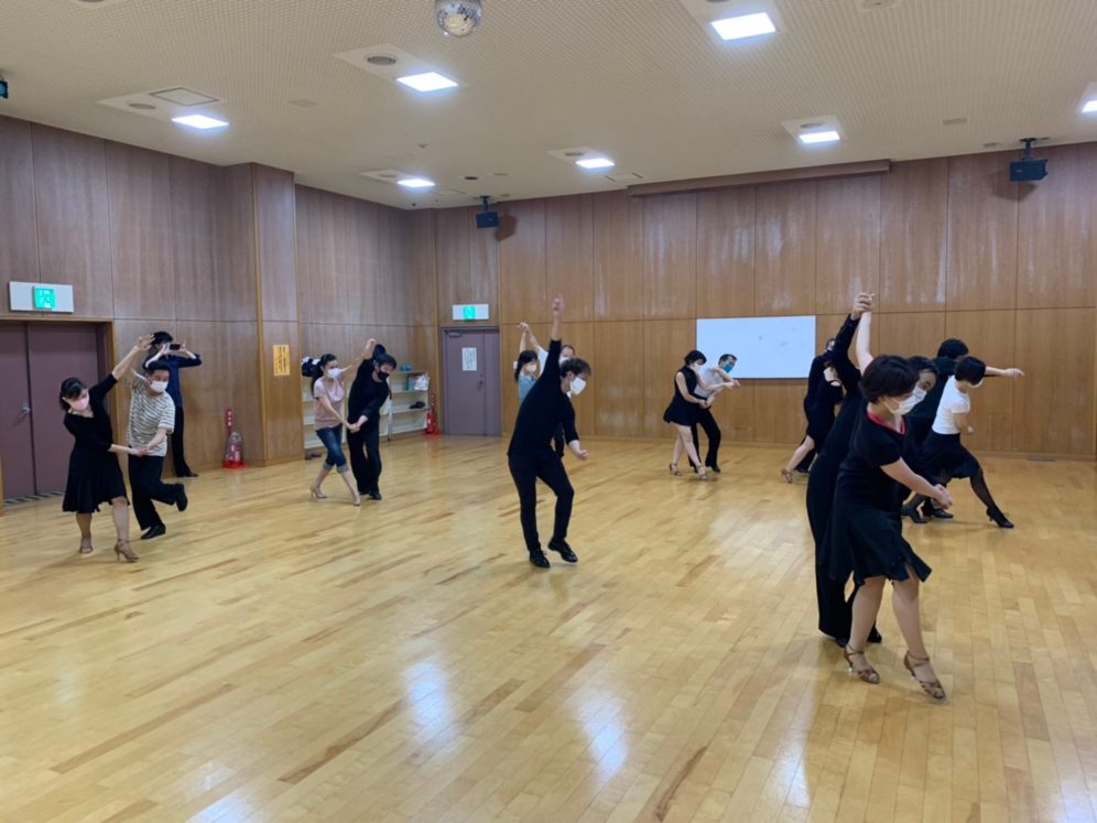 2020年7月28日 ギャラクシーダンスクラブ 例会のご案内@上北沢区民センター