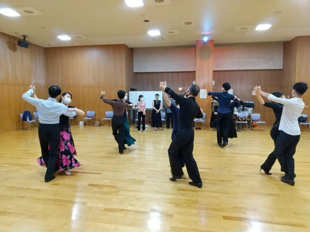 2020年8月12日 ギャラクシーダンスクラブ 例会のご案内@上馬高齢者集会所