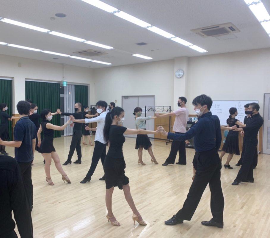 2020年9月23日 ギャラクシーダンスクラブ 例会のご案内@上馬高齢者集会所