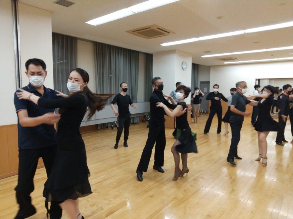 【要確認!】2020年9月16日 ギャラクシーダンスクラブ 例会のご案内@桜新町区民集会所