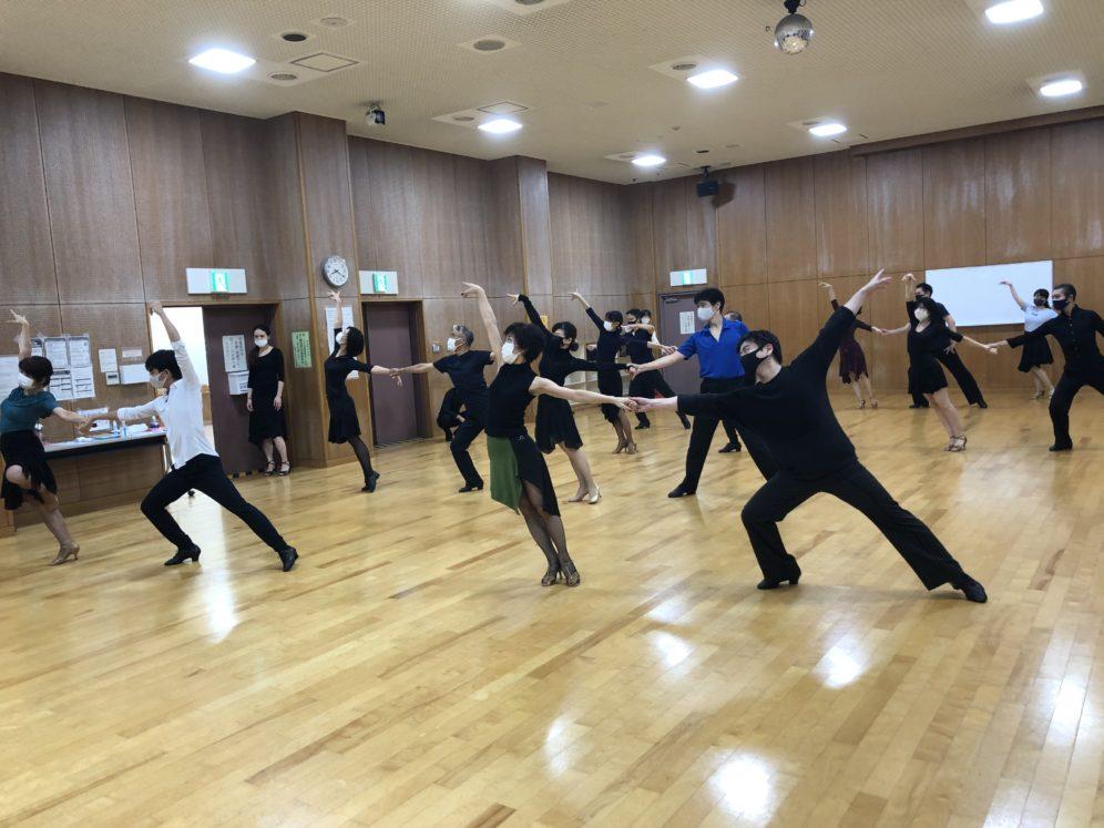2020年9月30日 ギャラクシーダンスクラブ 例会のご案内@桜丘区民センター別館