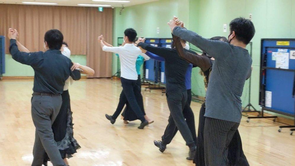 2020年9月2日 ギャラクシーダンスクラブ 例会のご案内@宮坂区民センター