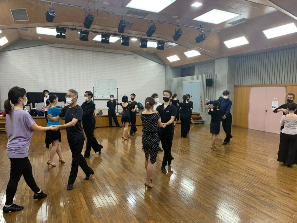 2020年10月7日 ギャラクシーダンスクラブ 例会のご案内@桜丘区民センター