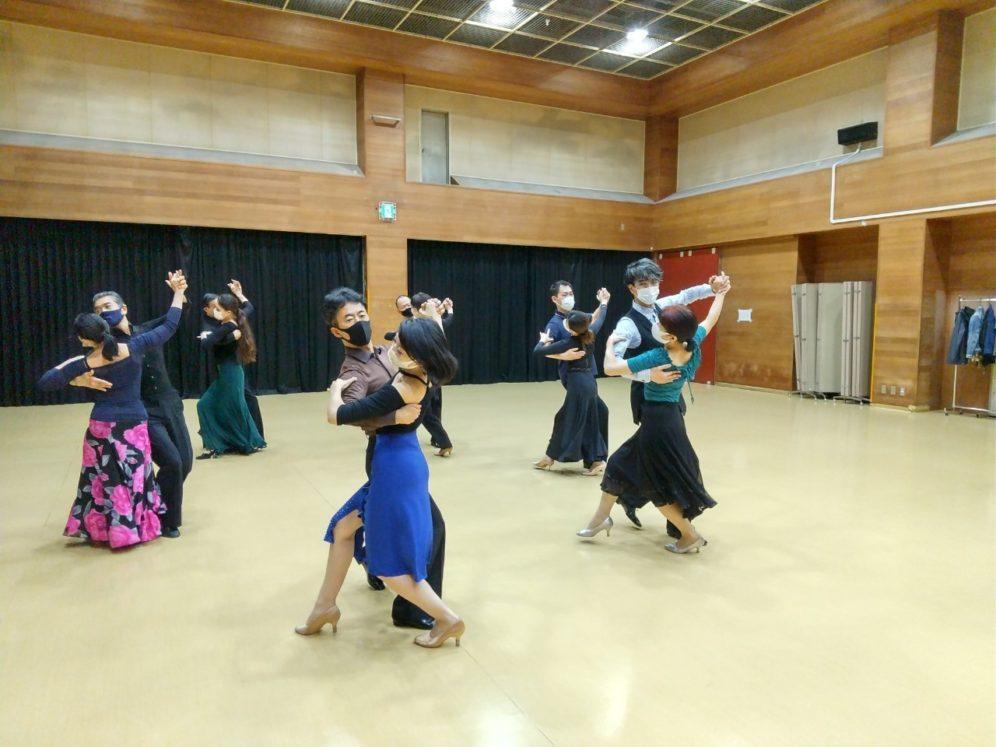 2020年10月14日 ギャラクシーダンスクラブ 例会のご案内@桜丘区民センター