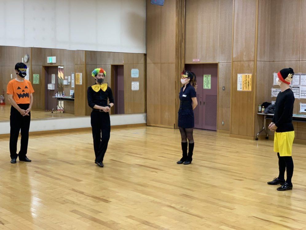 2020年11月4日 ギャラクシーダンスクラブ 例会のご案内@上馬高齢者集会所