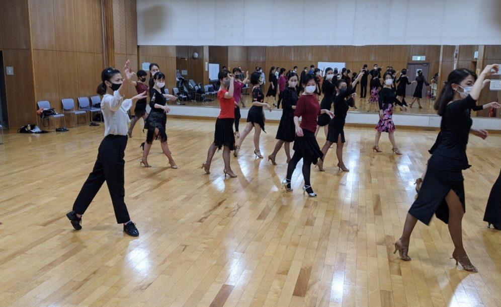 2020年11月11日 ギャラクシーダンスクラブ 例会のご案内@新代田区民集会所