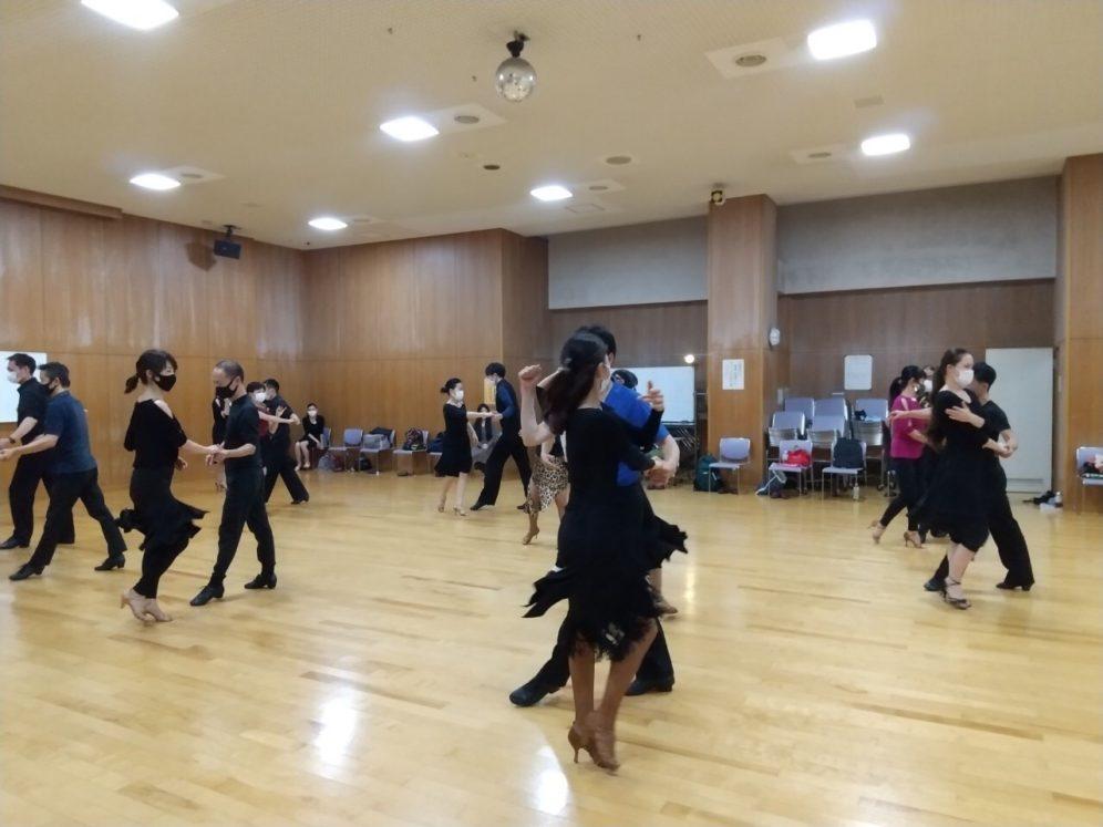 2021年3月24日 ギャラクシーダンスクラブ 例会のご案内@上馬高齢者集会所