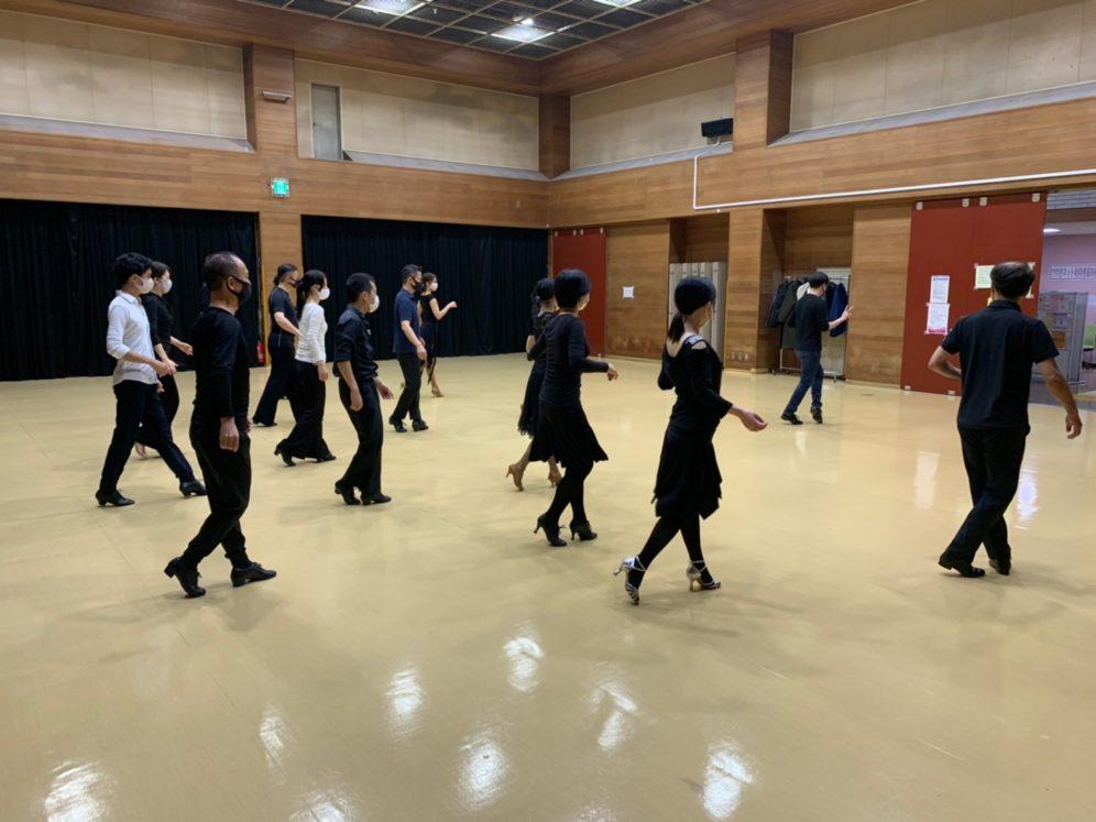 2020年12月2日 ギャラクシーダンスクラブ 例会のご案内@上馬高齢者集会所