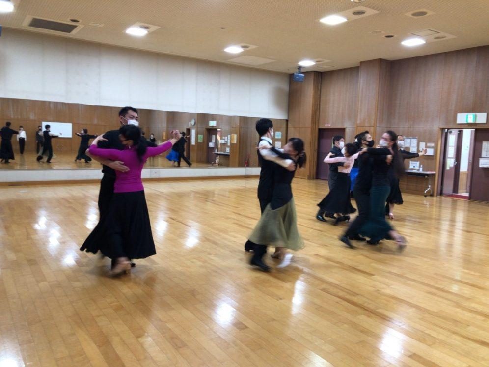 2020年12月9日 ギャラクシーダンスクラブ 例会のご案内@上馬高齢者集会所
