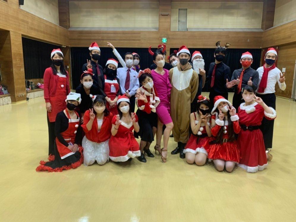 2020年12月23日  ギャラクシーダンスクラブ 例会のご案内@桜丘区民センター